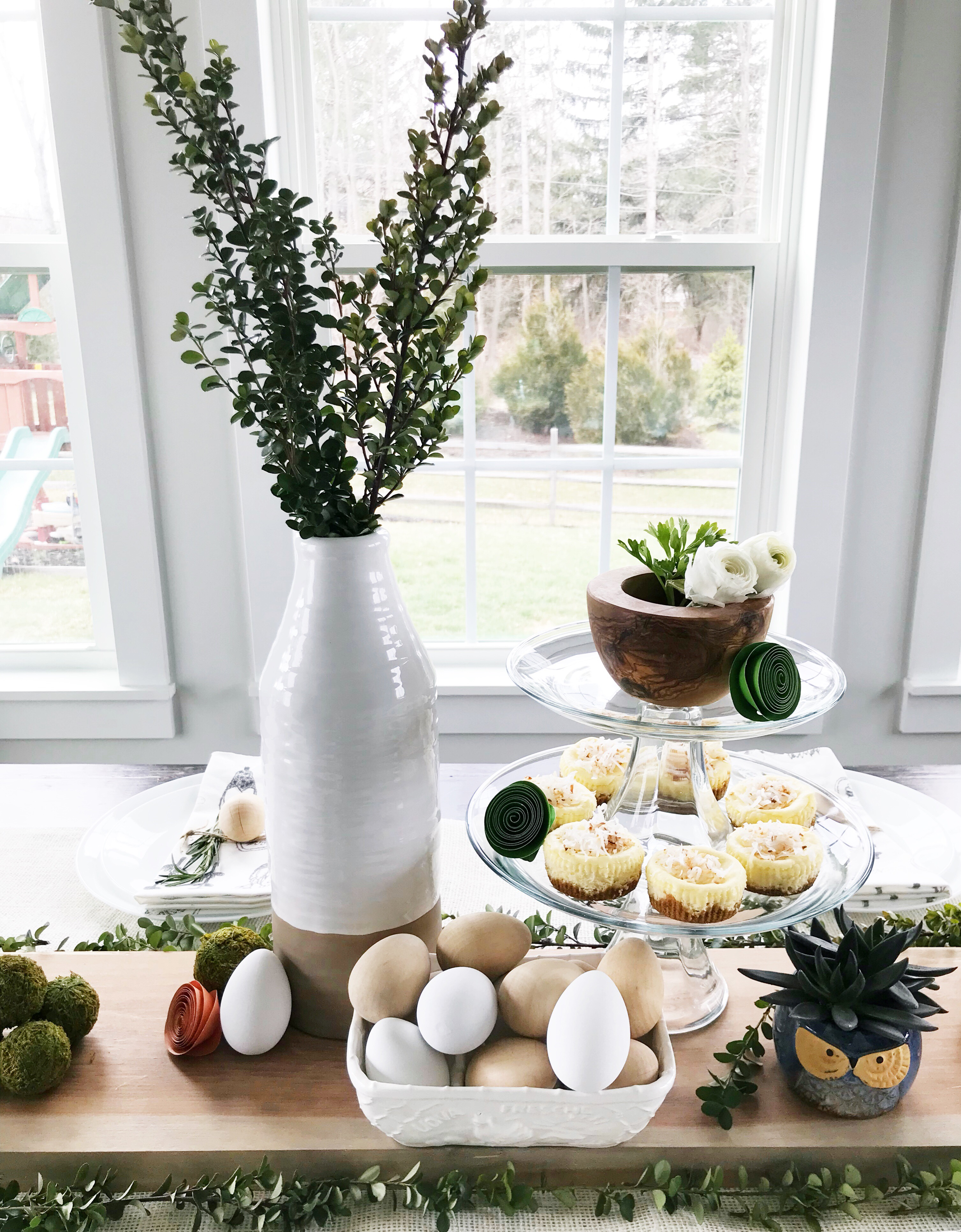 My Rustic Easter Table