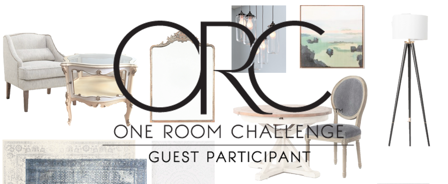 One Room Challenge Week 1 – Taking on my Front Room / Dining Room