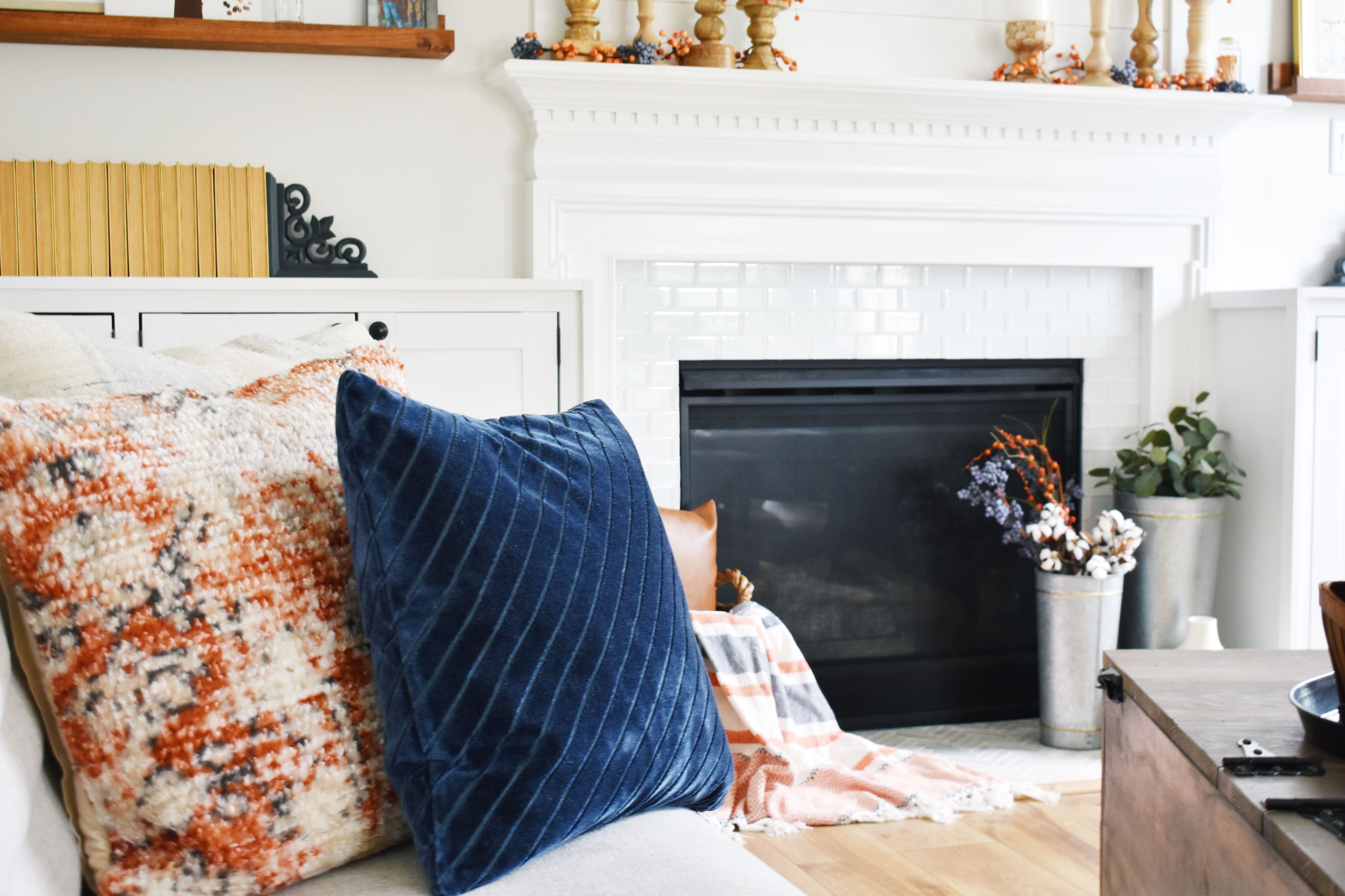 Fall Decor Living Room Tour
