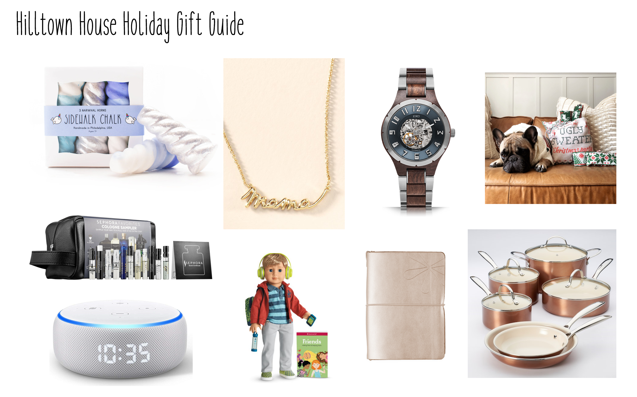 Holiday Gift Guides – For the Ladies, the Gents, the Boys, the Neighbors, and the House