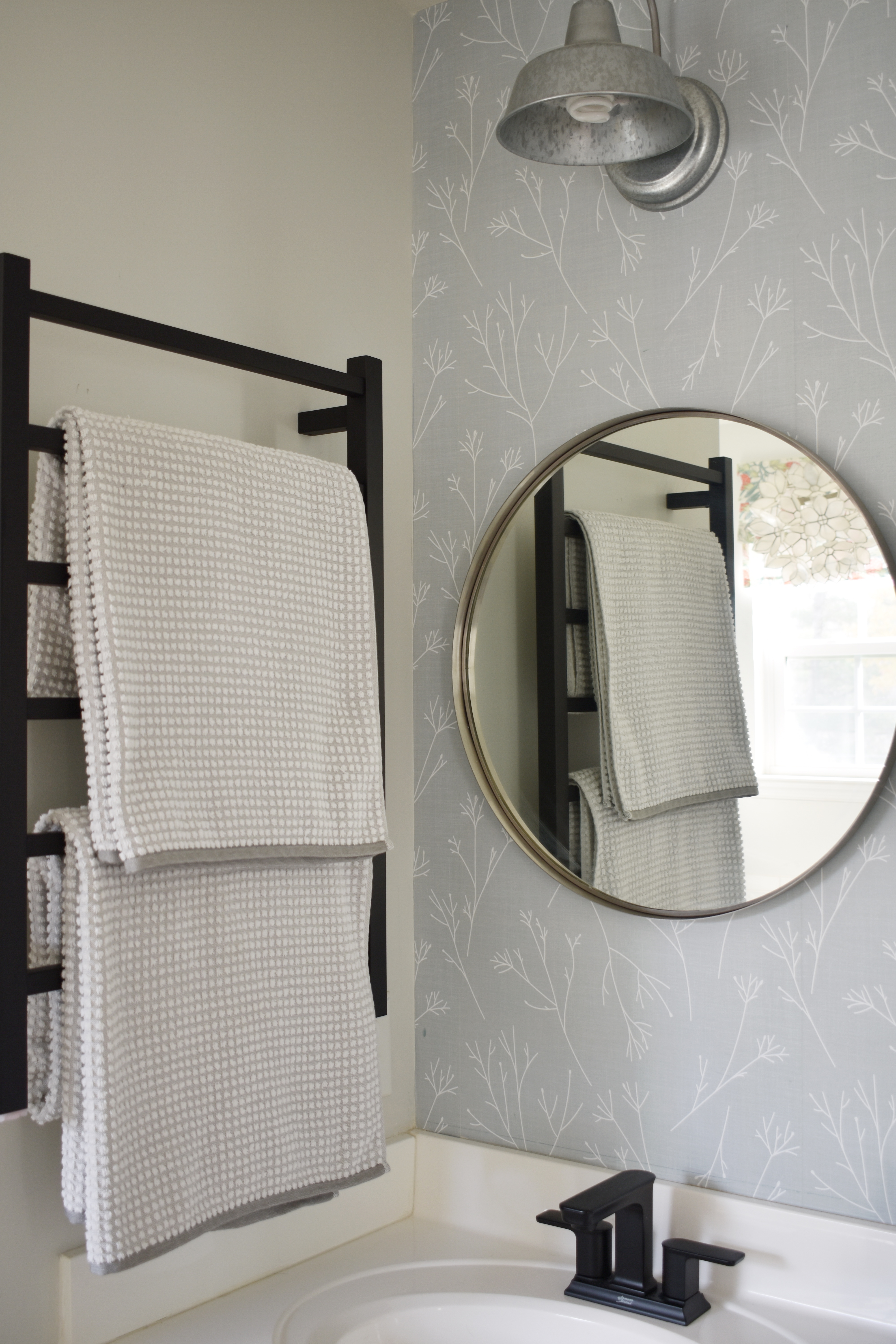 Indulging in a Mini-Master Bath-Makeover with my new Bathroom Butler Heated Towel Warmer