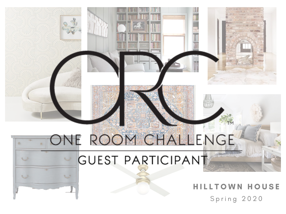One Room Challenge Week One – A Master Retreat