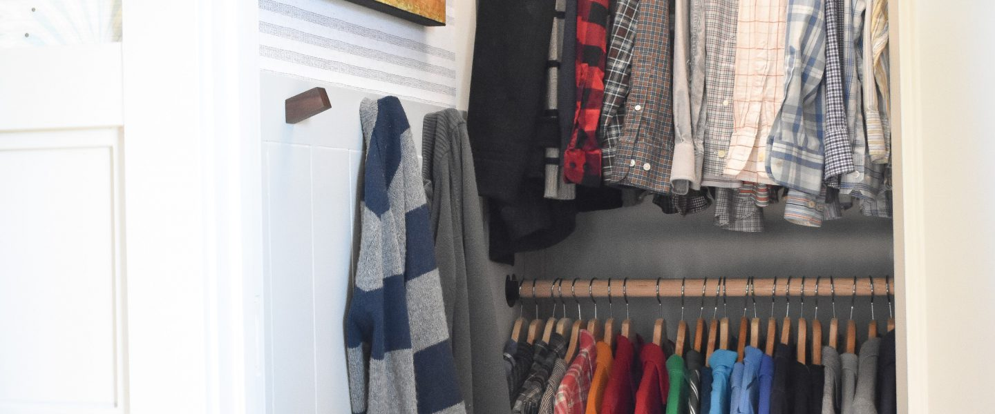 One Room Challenge – DIY Bedroom Closet Reveal